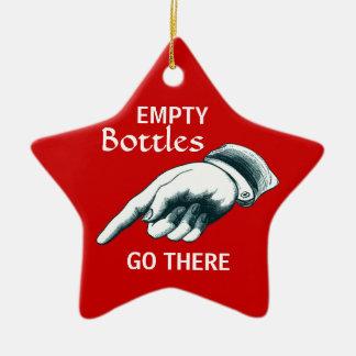 Weihnachtsfeiertags-Party-Dekoration Keramik Stern-Ornament