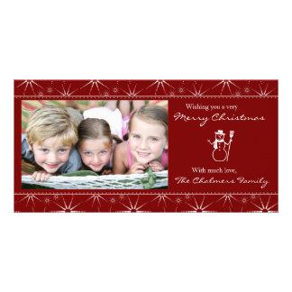 WeihnachtsFoto-Karte Photogrußkarten