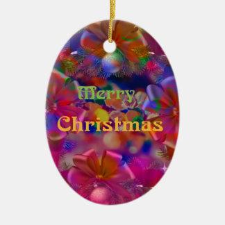 Weihnachtsfreude Keramik Ornament
