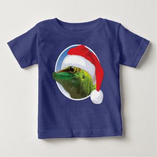 WeihnachtsGecko - Baby-feiner Jersey-T - Shirt