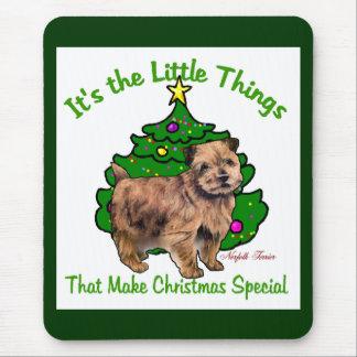 Weihnachtsgeschenke Norfolks Terrier Mauspads
