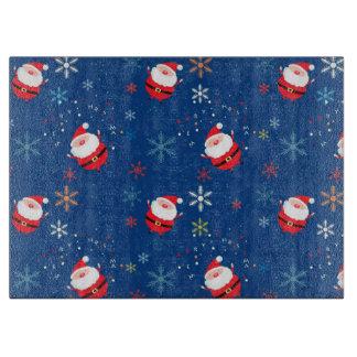 Weihnachtsglasschneiden-Brett/Sankt Schneidebrett