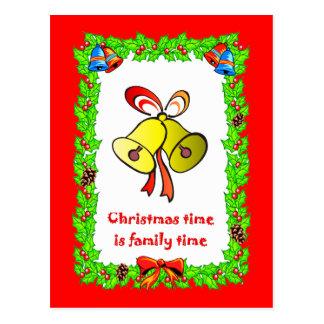 Weihnachtsglocken Postkarte