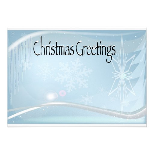 Weihnachtsgruß-Einladungen