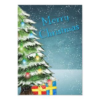 Weihnachtsgrüße 12,7 X 17,8 Cm Einladungskarte