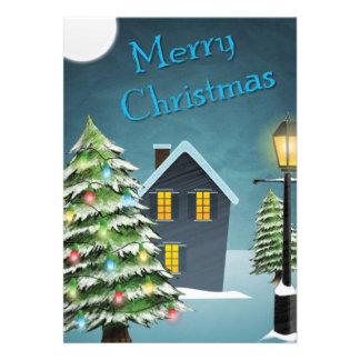 Weihnachtsgrüße Personalisierte Einladungen