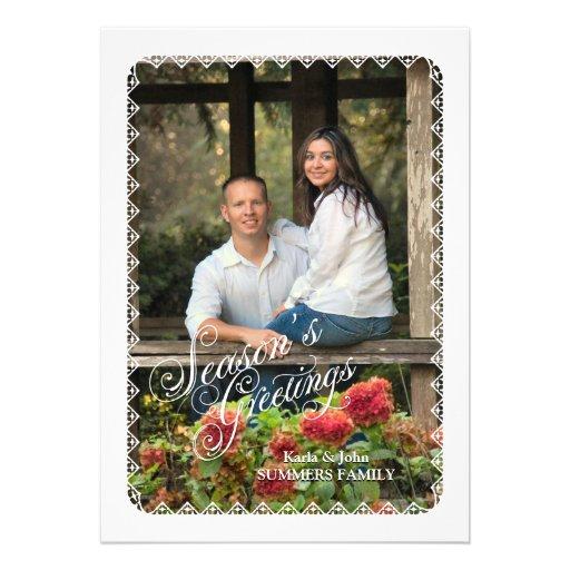 Weihnachtsgrüße Personalisierte Einladung