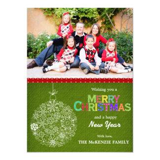 Weihnachtsgrüße 14 X 19,5 Cm Einladungskarte