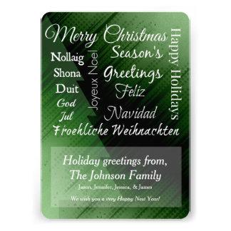 Weihnachtsgrüße Individuelle Einladungen