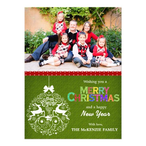 Weihnachtsgrüße Individuelle Einladungskarten