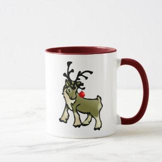Weihnachtskaribu Tasse