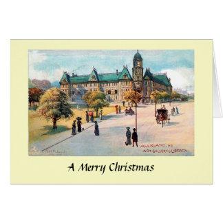 Weihnachtskarte - Auckland, NZ Karte