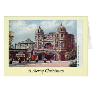 Weihnachtskarte - Buxton, Derbyshire Karte