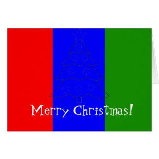 Weihnachtskarte für die Massen Karte