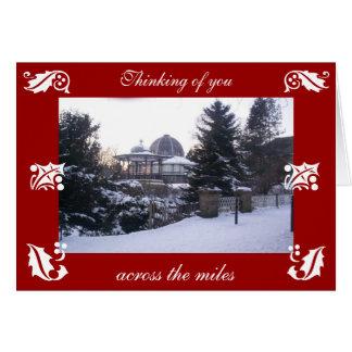 Weihnachtskarte von Buxton Karte