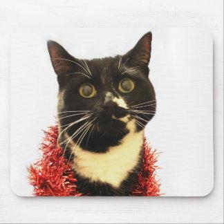 Weihnachtskatze Mousepad