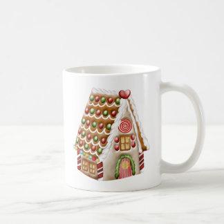 Weihnachtslebkuchen-Haus Tasse