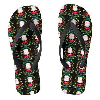 Weihnachtsmann Flip Flops