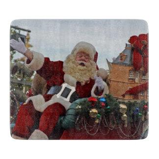 Weihnachtsmann für Weihnachten Schneidebrett