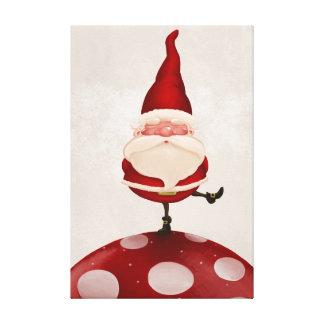 Weihnachtsmann-Pilz Gespannte Galeriedrucke