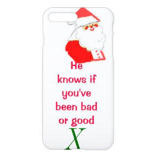 Weihnachtsmann schlecht oder gut iPhone 8 plus/7 plus hülle