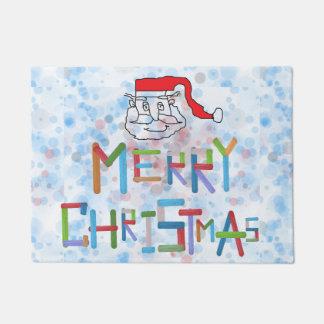 Weihnachtsmann-Tür-Matte Türmatte