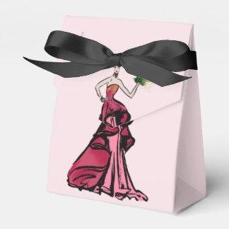 Weihnachtsmode-Illustration mit Baum Geschenkschachtel