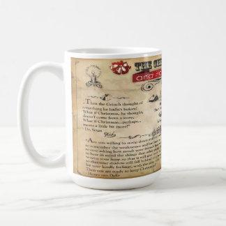 Weihnachtsnachrichten 15 Unze-Tasse Tasse
