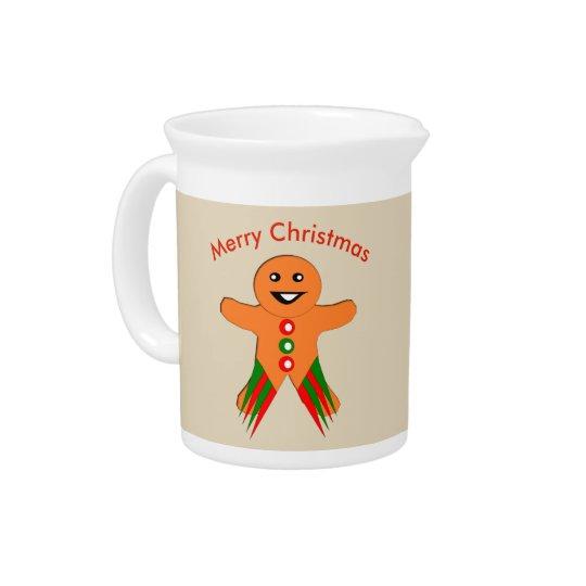WeihnachtsParty-Lebkuchen-Mann-Krug Krüge