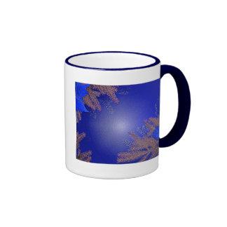 Weihnachtspoinsettia-Blau I Teetassen