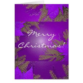 Weihnachtspoinsettia lila auf englisch