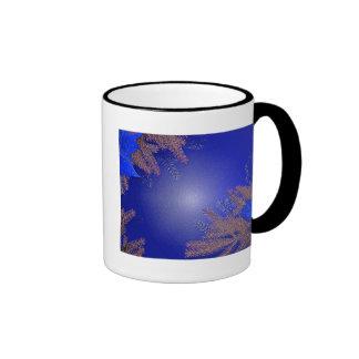 Weihnachtspoinsettia schwarz und Grau I Tee Tassen