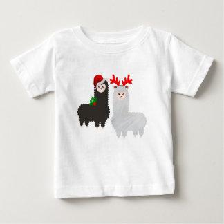 Weihnachtsrenalpakas Baby T-shirt