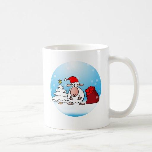 Weihnachtsschaf Kaffee Tassen