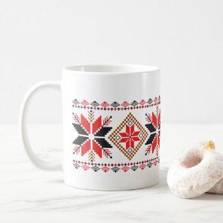 Weihnachtsschneeflocke-Feiertags-dekorative Tasse