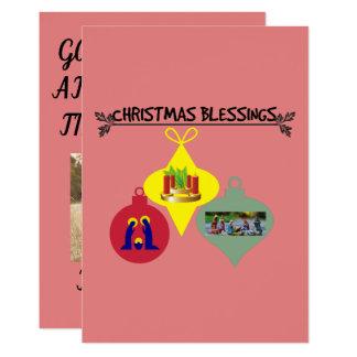 Weihnachtssegen Karte