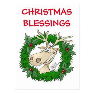 Weihnachtssegen Postkarte