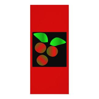 Weihnachtsstechpalme II 10,2 X 23,5 Cm Einladungskarte