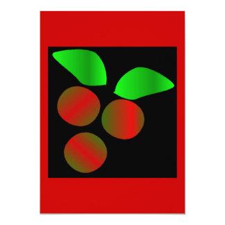 Weihnachtsstechpalme II 12,7 X 17,8 Cm Einladungskarte