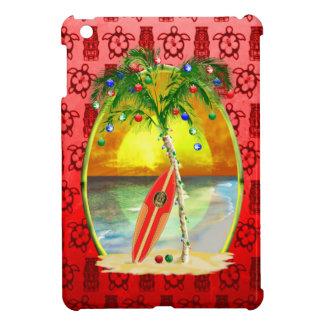Weihnachtsstrand-Sonnenuntergang iPad Mini Hülle