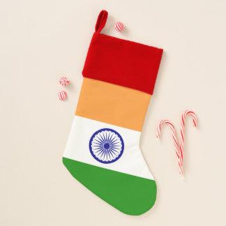 WeihnachtsStrumpf-Flagge von Indien Weihnachtsstrumpf