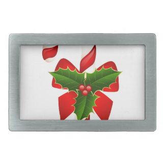Weihnachtsverziert fröhlicher Feiertags-Baum Feier Rechteckige Gürtelschnallen