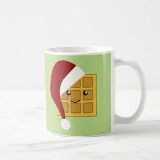 Weihnachtswaffel Kaffeetasse