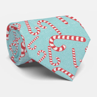 Weihnachtszuckerstange-festlicher klassischer individuelle krawatte