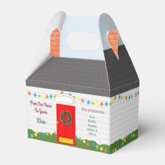 WeihnachtsZuhause-personalisierter Geschenkschachtel