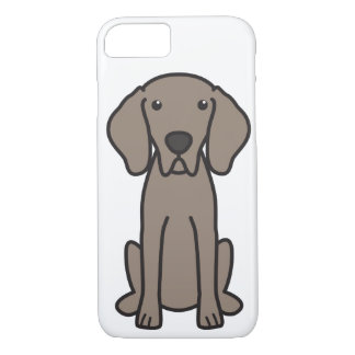 Weimaraner HundeCartoon iPhone 8/7 Hülle