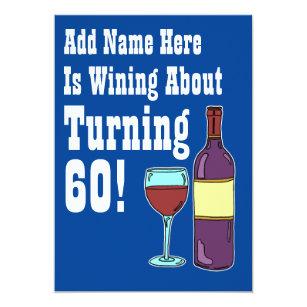 Geburtstag 60 wein