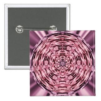 Wein-Satin-Kreis Quadratischer Button 5,1 Cm