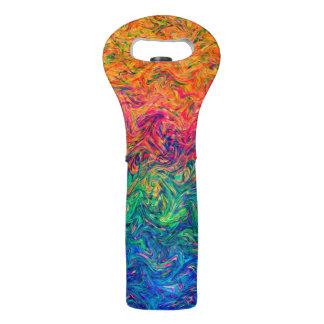 Wein-Taschen-Flüssigkeits-Farben Weintasche