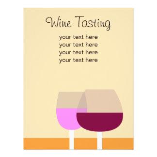 Weinprobe-/Wein-Geschäft 21,6 X 27,9 Cm Flyer